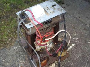 Самодельный сварочный трансформатор