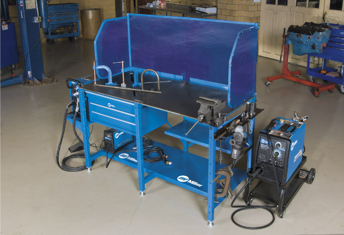 millerarcstationweldingworkbench