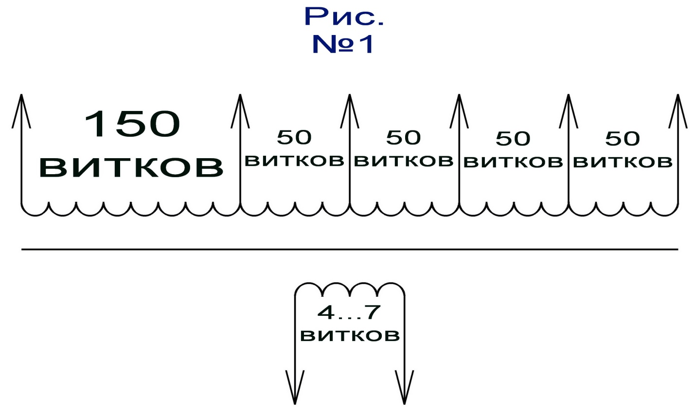 контактная сварка схема обмотки трансформатора